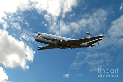 Airplane Photograph - Nimrod Patrol by Smart Aviation