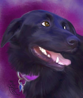 Painting - Nina by Becky Herrera