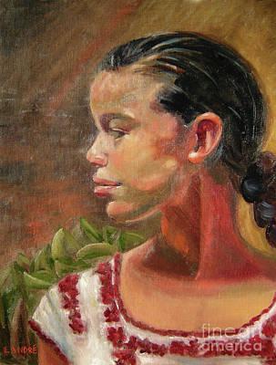 Painting - Nina De Trenza by Lilibeth Andre