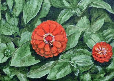 Painting - Nina Flower by Usha Shantharam