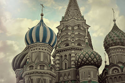 Photograph - Nine Chapels Of Moscow by JAMART Photography