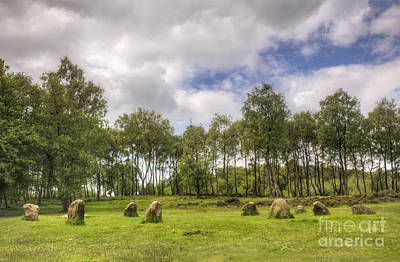 Food And Flowers Still Life Rights Managed Images - Nine Ladies Stone Circle Royalty-Free Image by Julie Woodhouse