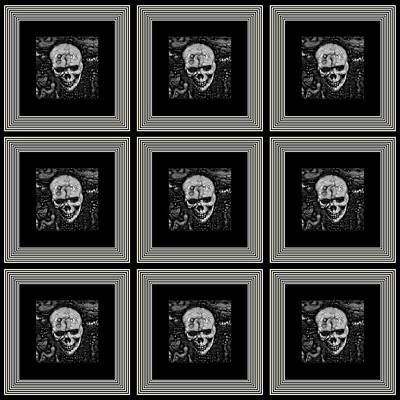 Shower Head Digital Art - Nine Lives by Darin Baker