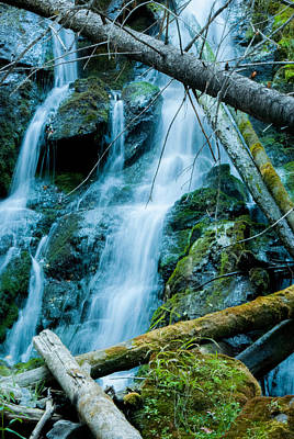 Photograph - Nine Mile Falls by Troy Stapek
