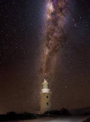 Photograph - Vlaming Head Lighthouse  by Martin Capek