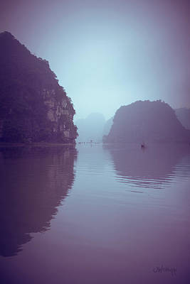 Binh Photograph - Ninh Binh River by Joseph Westrupp