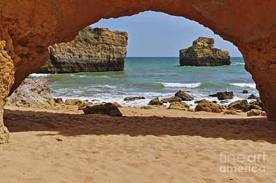 Photograph - Ninho Da Andorinha Beach Entrance In Albufeira by Angelo DeVal