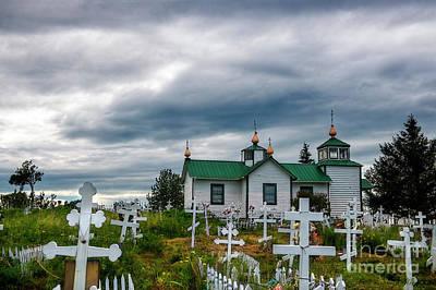 Photograph - Ninilchik Russian Orthodox Church by David Arment