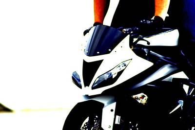 Motorcycle Photograph - Ninja 1 by Cynthia Nunn