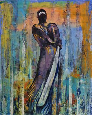 Figures Urban Painting - Ninja by Michael Creese