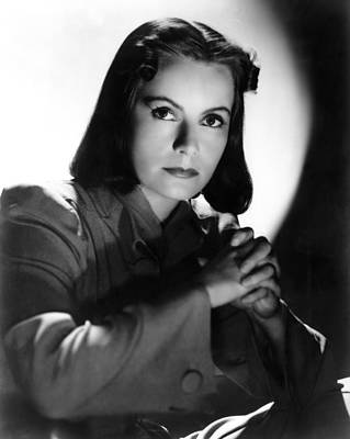 1939 Movies Photograph - Ninotchka, Greta Garbo, Portrait by Everett