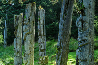 Haida Gwaii Photograph - Ninstints by Christian Heeb