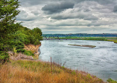 Photograph - Niobrara River by John M Bailey