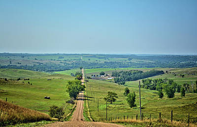 Photograph - Niobrara River Valley by Bonfire Photography