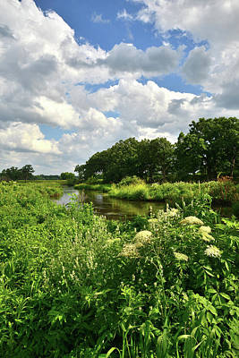 Nippersink Creek Photograph - Nippersink Creek In Glacial Park by Ray Mathis