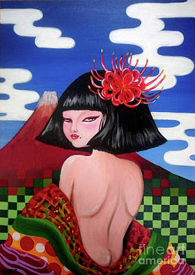 Painting - Nippon by Akiko Okabe