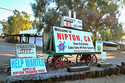 Photograph - Nipton California  by Floyd Snyder