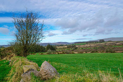Photograph - Nire Valley View by Michael Quinlan