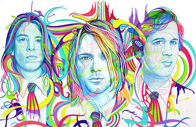 Drawing - Nirvana by Joshua Morton