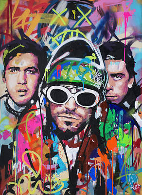 Painting - Nirvana by Richard Day