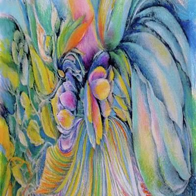 Drawing - Nirvana by Rosanne Licciardi