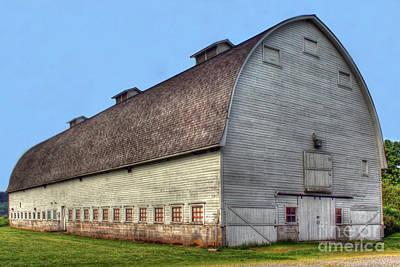 Photograph - Nisqually Barn by Rick Mann