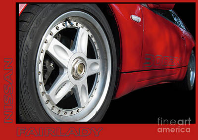 Photograph - Nissan 300zx Fairlady by Wendy Wilton