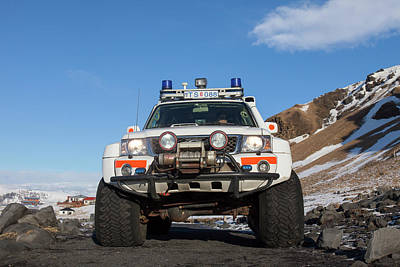 Photograph - Nissan Patrol Iceland by Arterra Picture Library