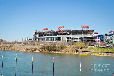 Photograph - Nissan Stadium by Pamela Williams