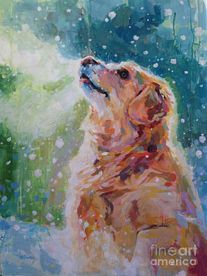 Golden Retriever  - Nita's Bliss by Kimberly Santini