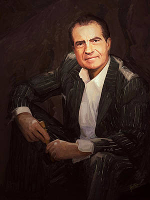 Briex Painting - Nixon Relax by Nop Briex
