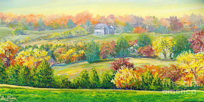 Painting - Nixon's Beauty Of Autumn by Lee Nixon