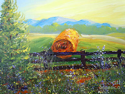 Nixon's Farm View Of Paradise Art Print