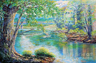 Painting - Nixon's Memories Of The Rapidan by Lee Nixon