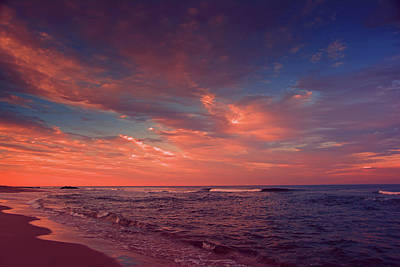 Photograph - Nj Beach Sunset by Raymond Salani III