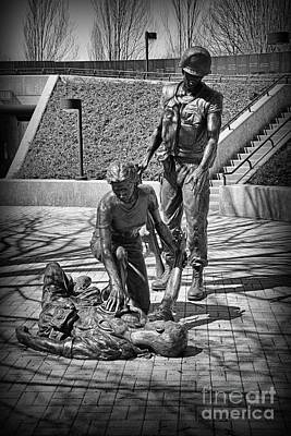 Photograph - Nj Vietnam Veterans Memorial by Paul Ward
