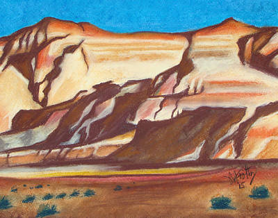 Painting - Nm Az Border by Michael Foltz