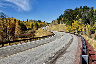 Photograph - Nm Hwy 64 In The San Juan Mountains by Robert Woodward
