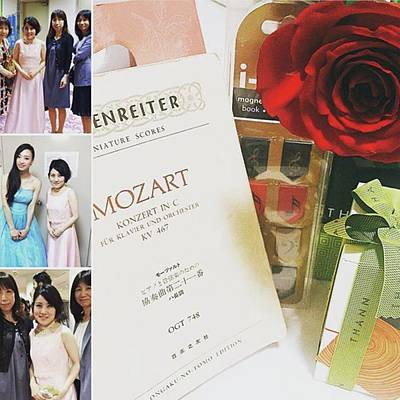 Mozart Photograph - お仕事(^^)🌸💦 #mozart#wien by Moeka Hino