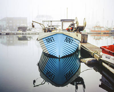 Photograph - Nn1 Fishing Boat Sovereign Harbour, Eastbourne. by Will Gudgeon