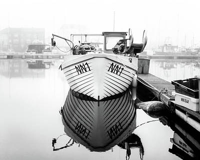 Photograph - Nn1 Fishing Boat by Will Gudgeon