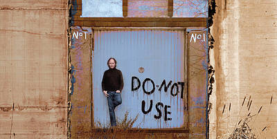 Photograph - No. 1- Do Not Use by Dolores Kaufman