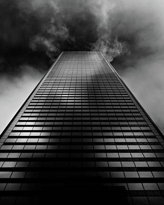 Art Print featuring the photograph No 100 King St W Toronto Canada 1 by Brian Carson