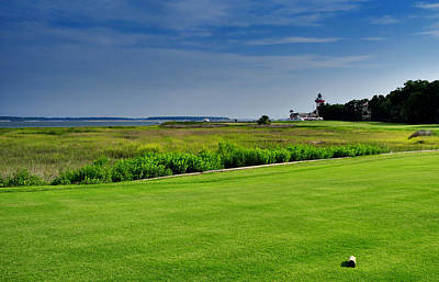 No. 18 At Harbour Town Golf Links Art Print by Lyle  Huisken
