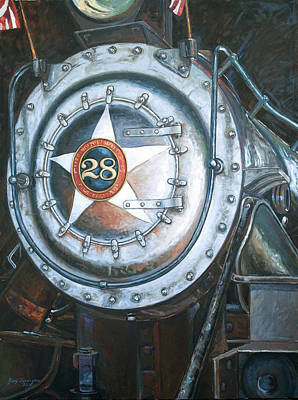 No. 28 In The Shed Art Print by Gary Symington