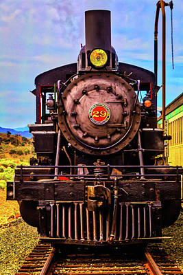 Virgina Photograph - No 29 Virgina Truckee Train by Garry Gay