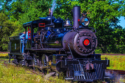 Old West Photograph - No 3 Jamestown Steam Train by Garry Gay