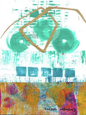 Mixed Media - No. 39 by Rachel Loewens