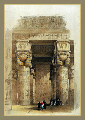 Photograph - Egyptian Temple No 4 by Robert G Kernodle