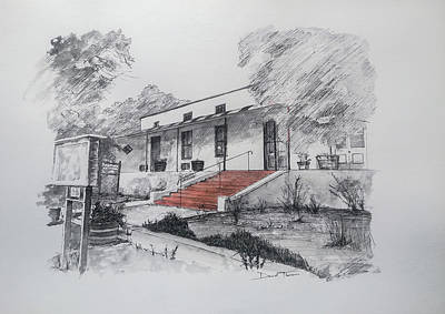 Mixed Media - No 4 Church Street Tulbagh by Dawid Theron